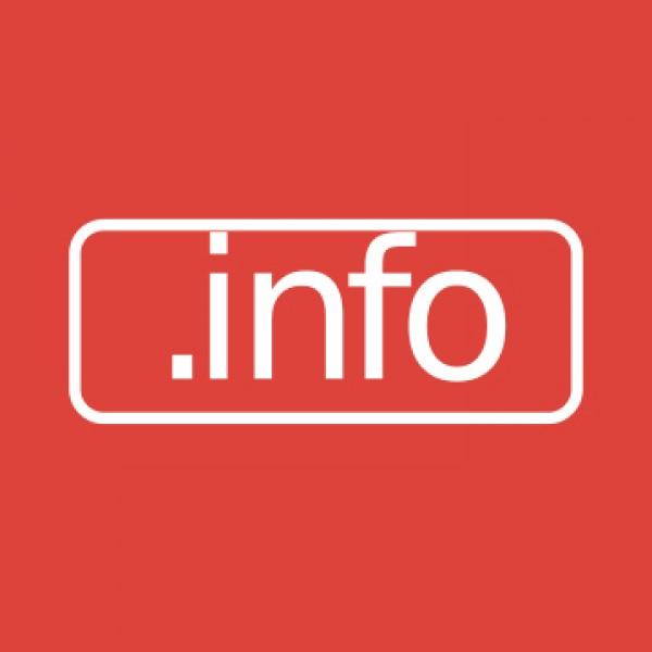 .INFO domain regisztráció/db